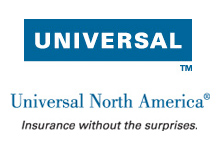 Logo for Universal North America, the insurance carrier in Hillsborough, FL