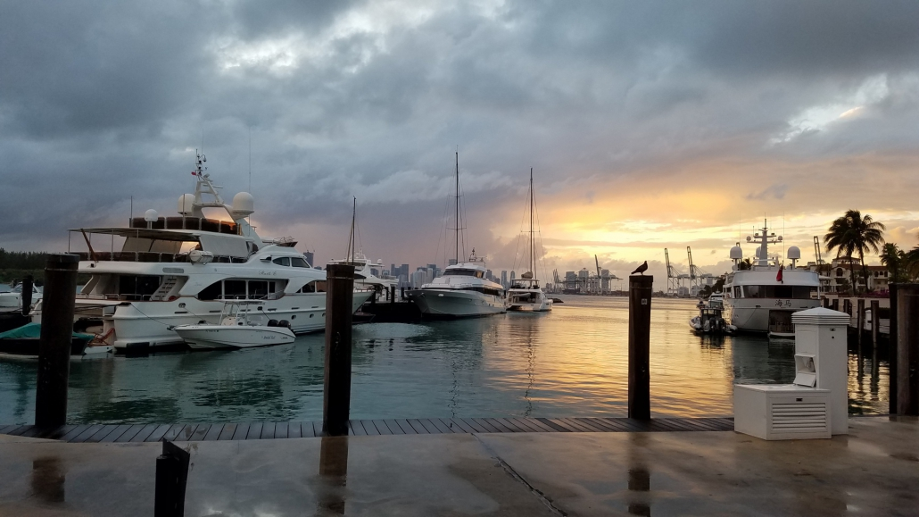 Boat covered by a comprehensive boat insurance policy in Tampa, Florida
