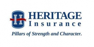 Logo for Heritage Insurance, the insurance carrier in Hillsborough, FL