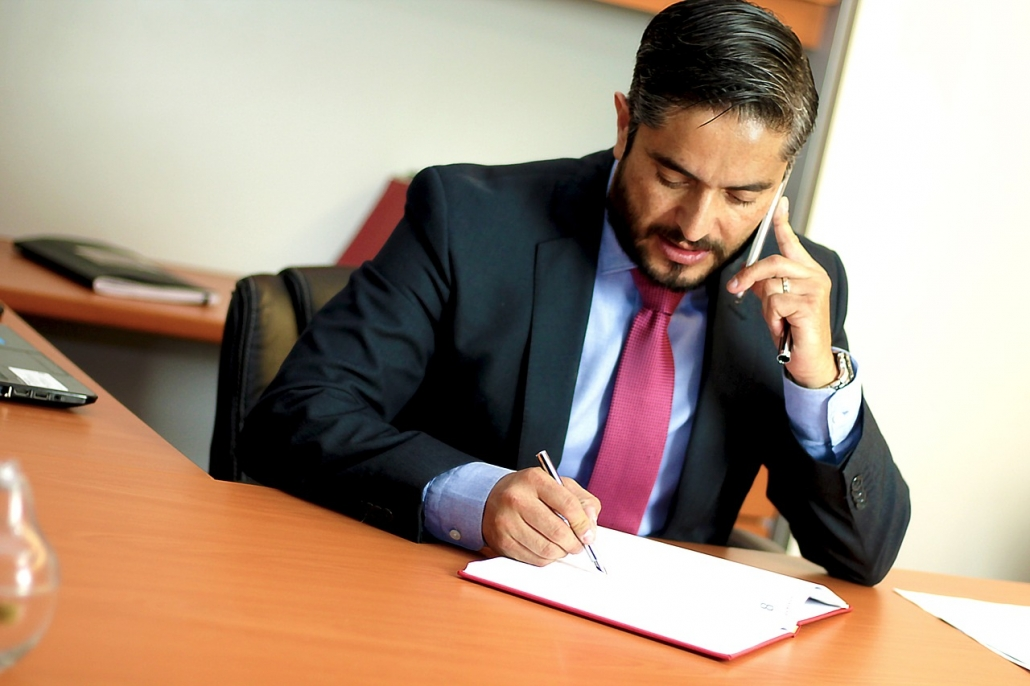Attorney learns that business has general liability insurance